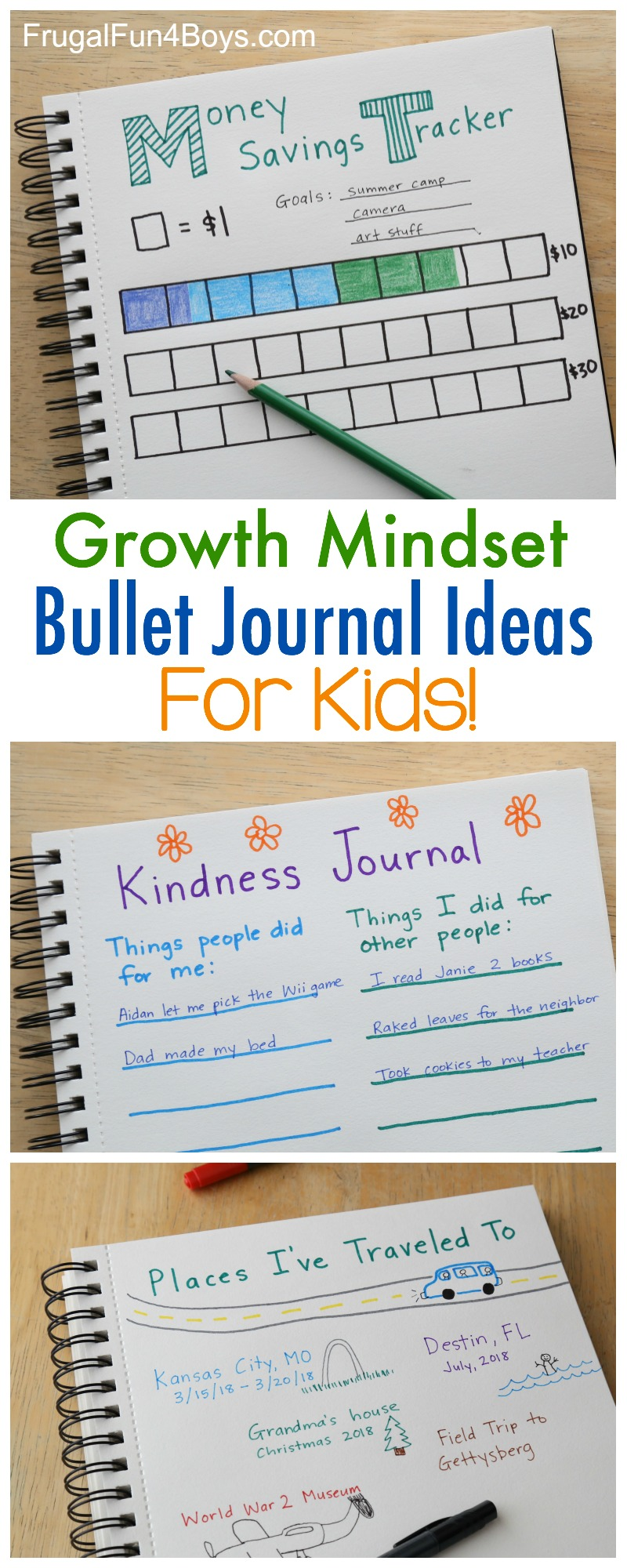 Growth mindset bullet journal ideas for kids so what can kids do with a bullet journal solutioingenieria Image collections