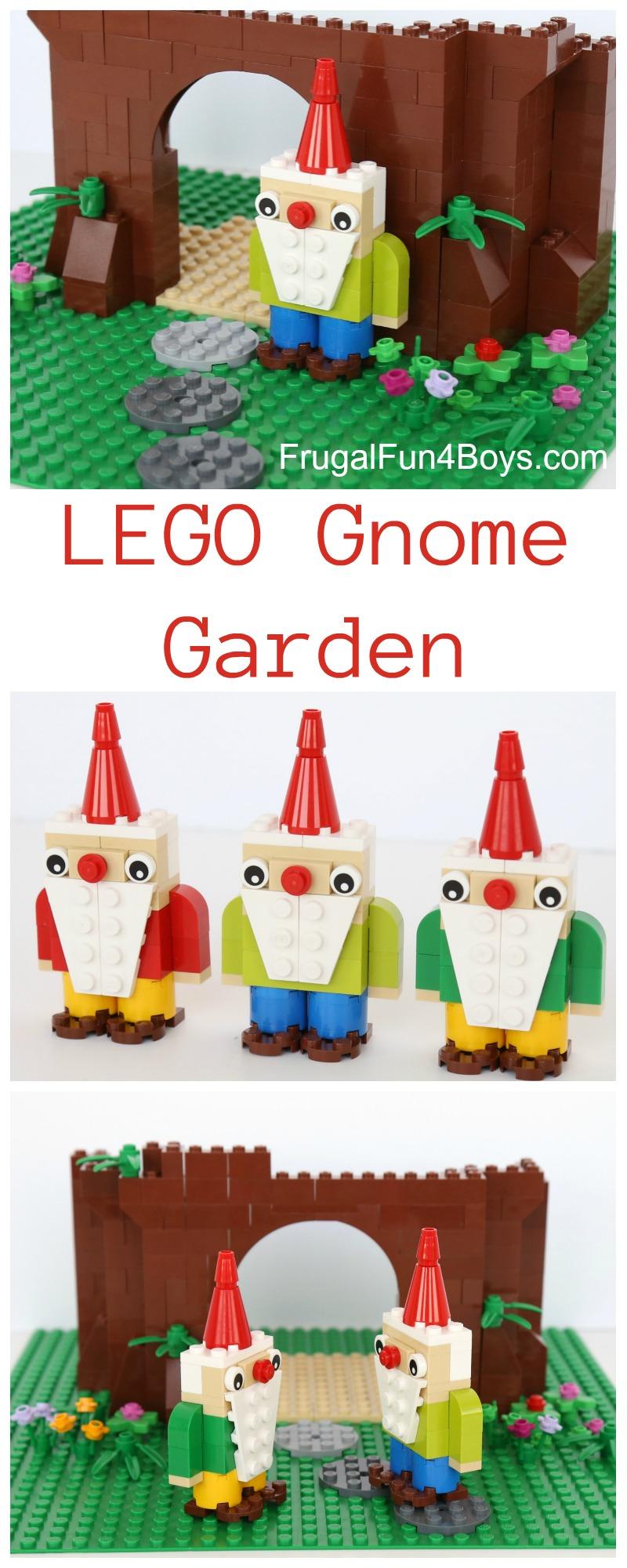 Gnome 4: Build A LEGO Gnome Garden