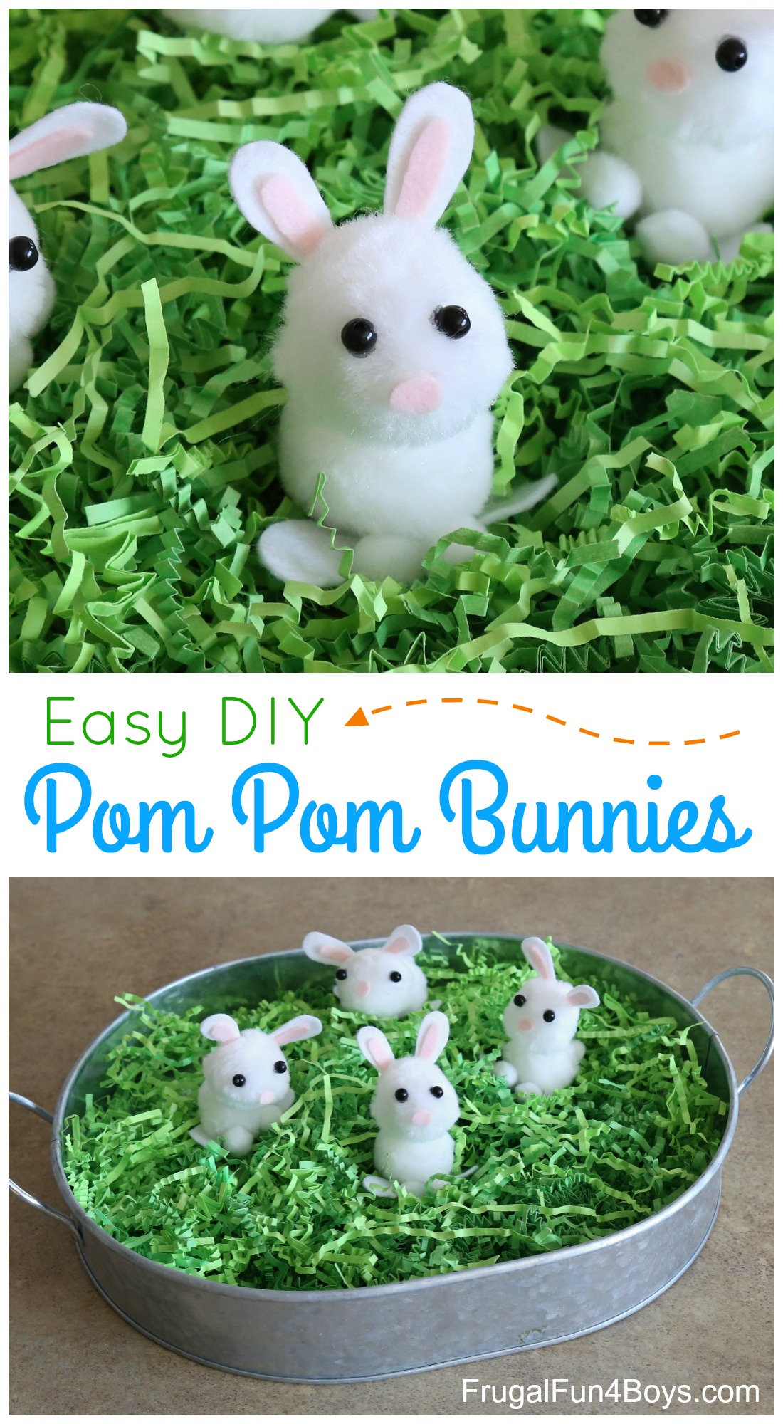 They Are Fun To Play With But Also Cute Enough For A Spring Or Easter Centerpiece