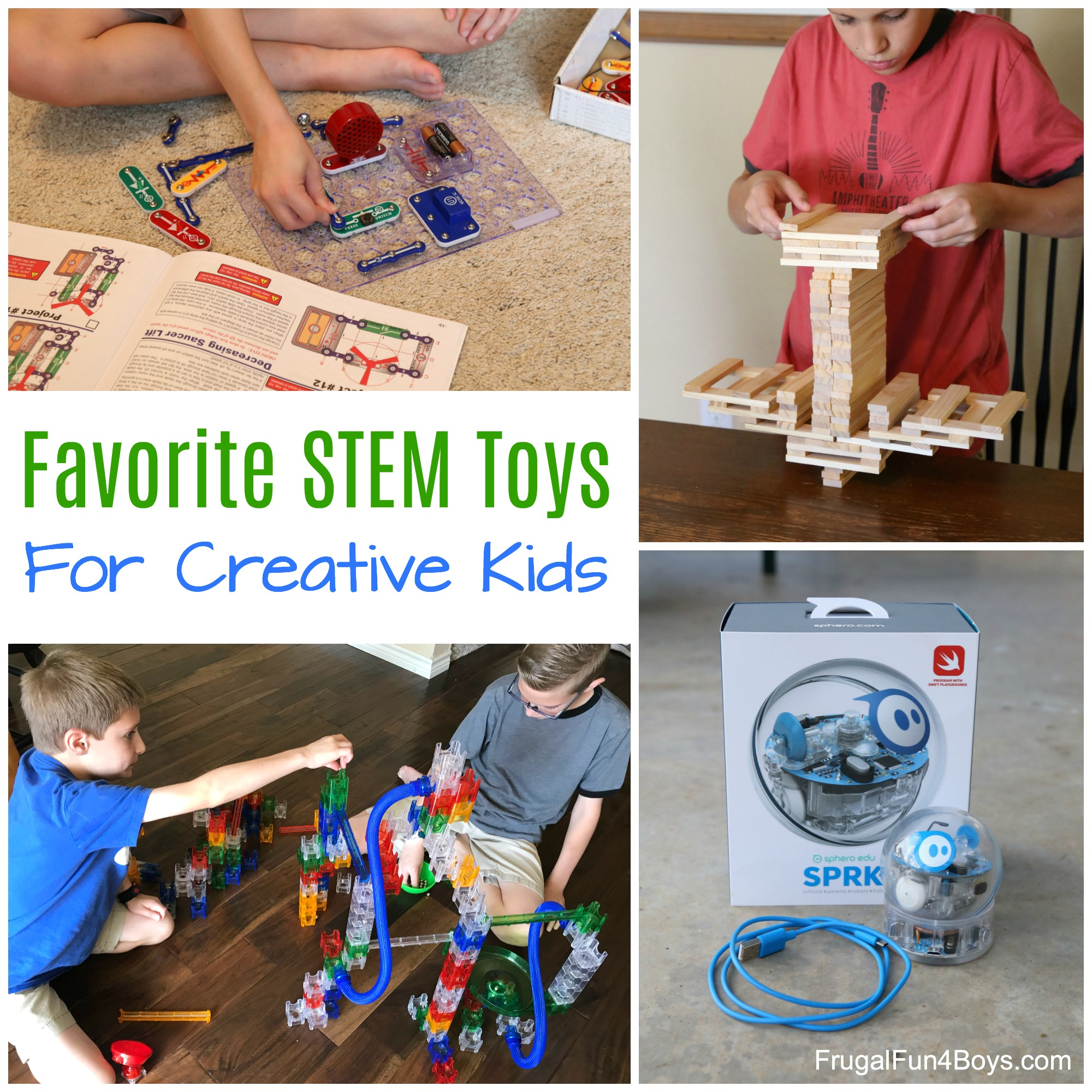 Favorite Stem Toys For Creative Kids Frugal Fun Boys And Girls Projects Dough Project Ideas Play Parallel Circuit Have Building Tinkering