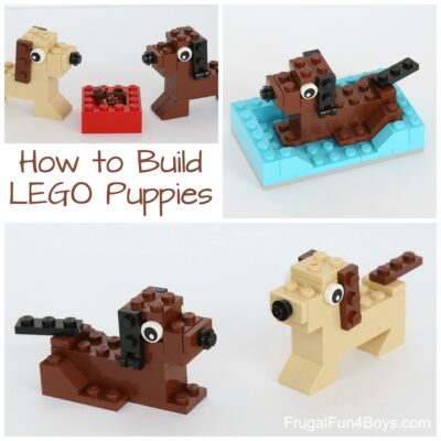 How to Build Puppies with LEGO Bricks