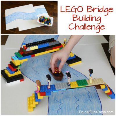 Do a LEGO Bridge Building Challenge!