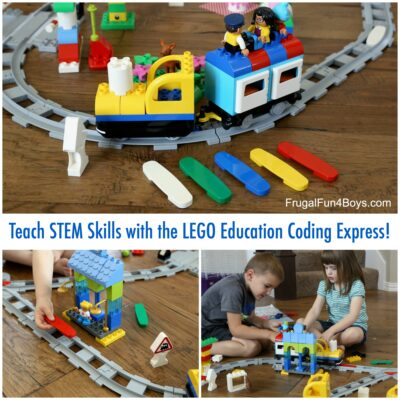 Spark an interest in early coding skills with LEGO Education!