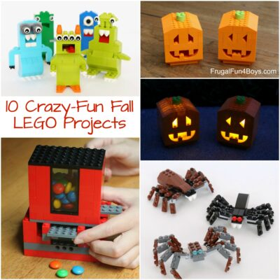 10 Crazy Fun Fall LEGO Projects