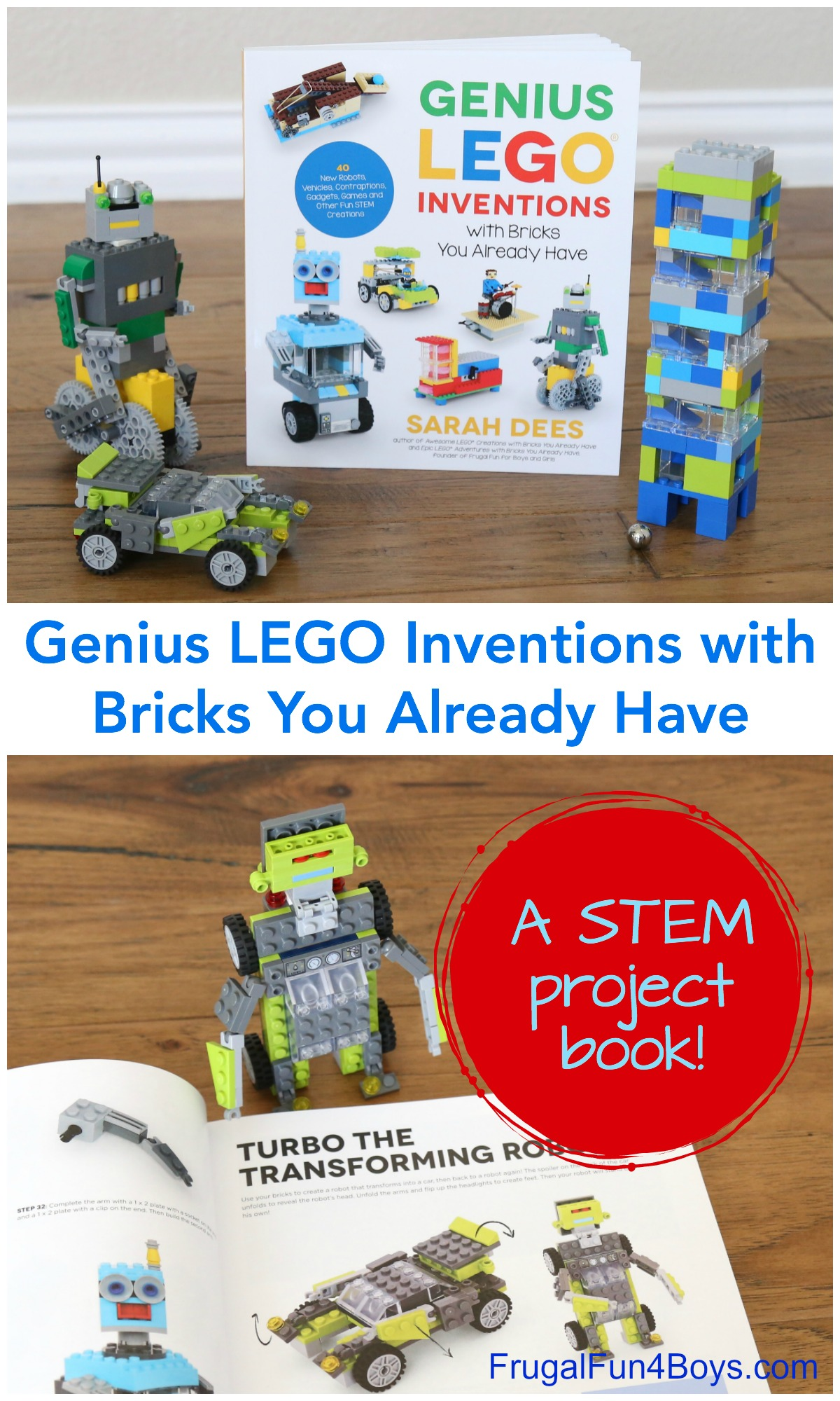 This Lego Stem Project Book Is A Must Have For Future Engineers Frugal Fun For Boys And Girls