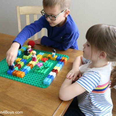 Engaging, Hands-on DUPLO Math Games that Kids will LOVE!