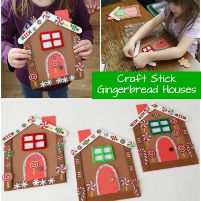 This Gingerbread House is the Most Adorable Christmas Craft for Kids!