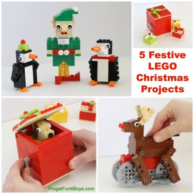 How to Build Five Festive LEGO Christmas Projects