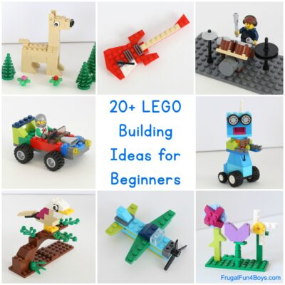 20+ Awesome LEGO Building Ideas for Beginners