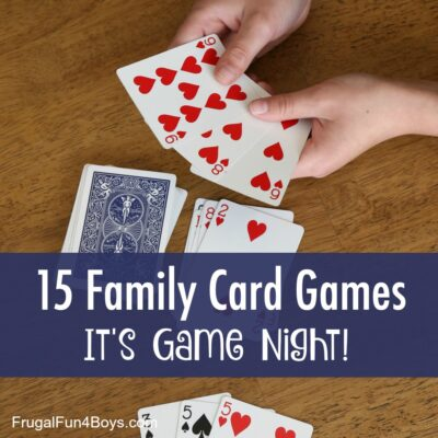 15 Card Games that are Perfect for Your Next Family Game Night