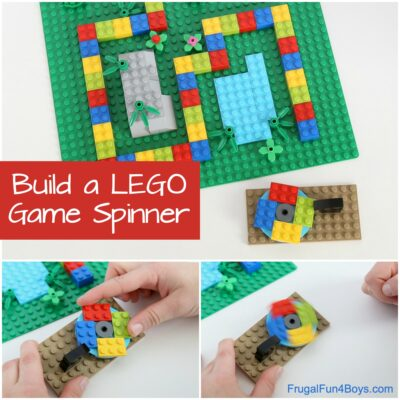Build a Game Spinner with LEGO Bricks