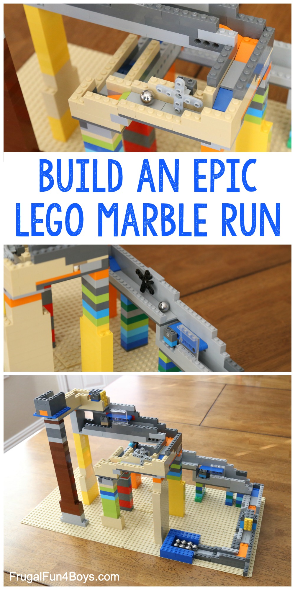 How To Build An Epic Lego Marble Run Frugal Fun For Boys And Girls