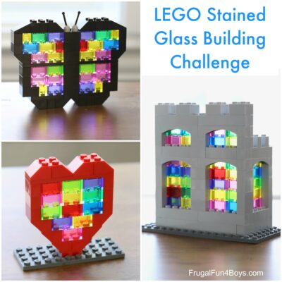 Stained Glass LEGO Building Challenge