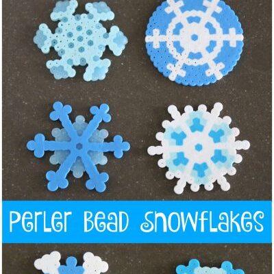 Design Beautiful Perler Bead Snowflakes