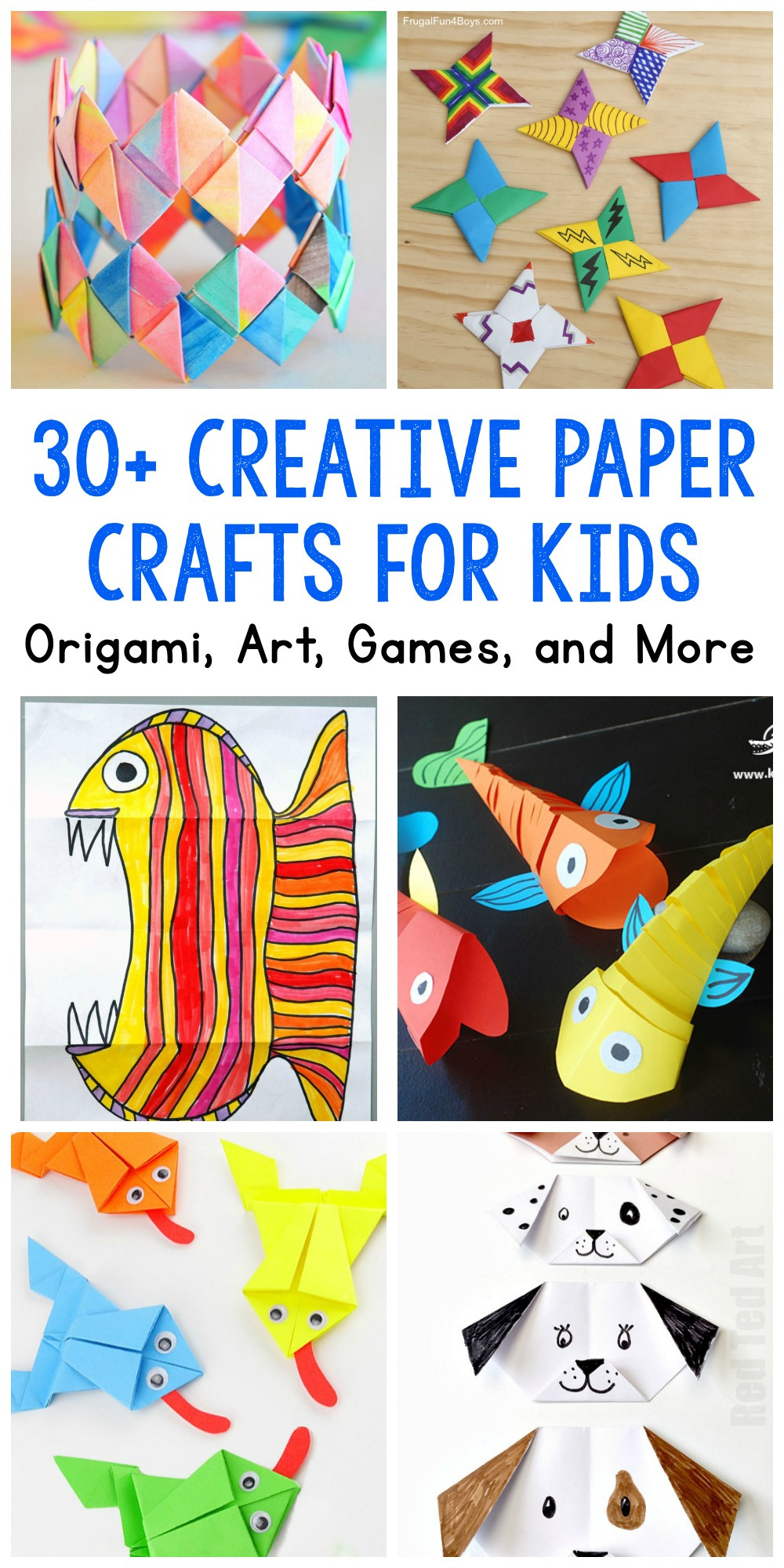 Paper Crafts for Kids: 30 Fun Projects You'll Want to Try ...