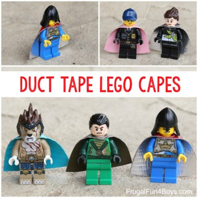 Make Duct Tape LEGO Capes