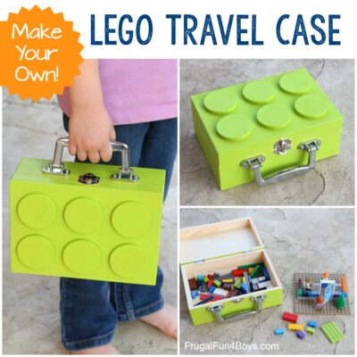 Make Your Own LEGO Brick Travel Case