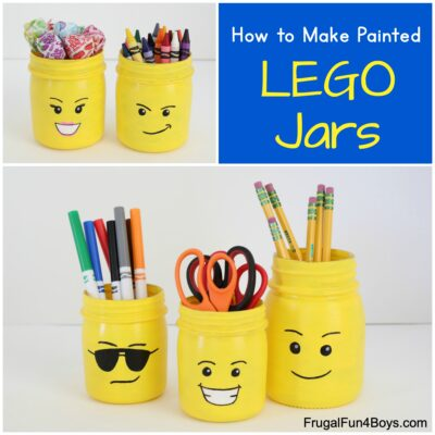 How to Make Painted LEGO Jars
