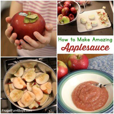 How to Make Amazing Homemade Applesauce