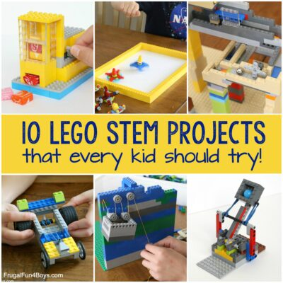 10 LEGO STEM Projects that Every Kid Should Try!