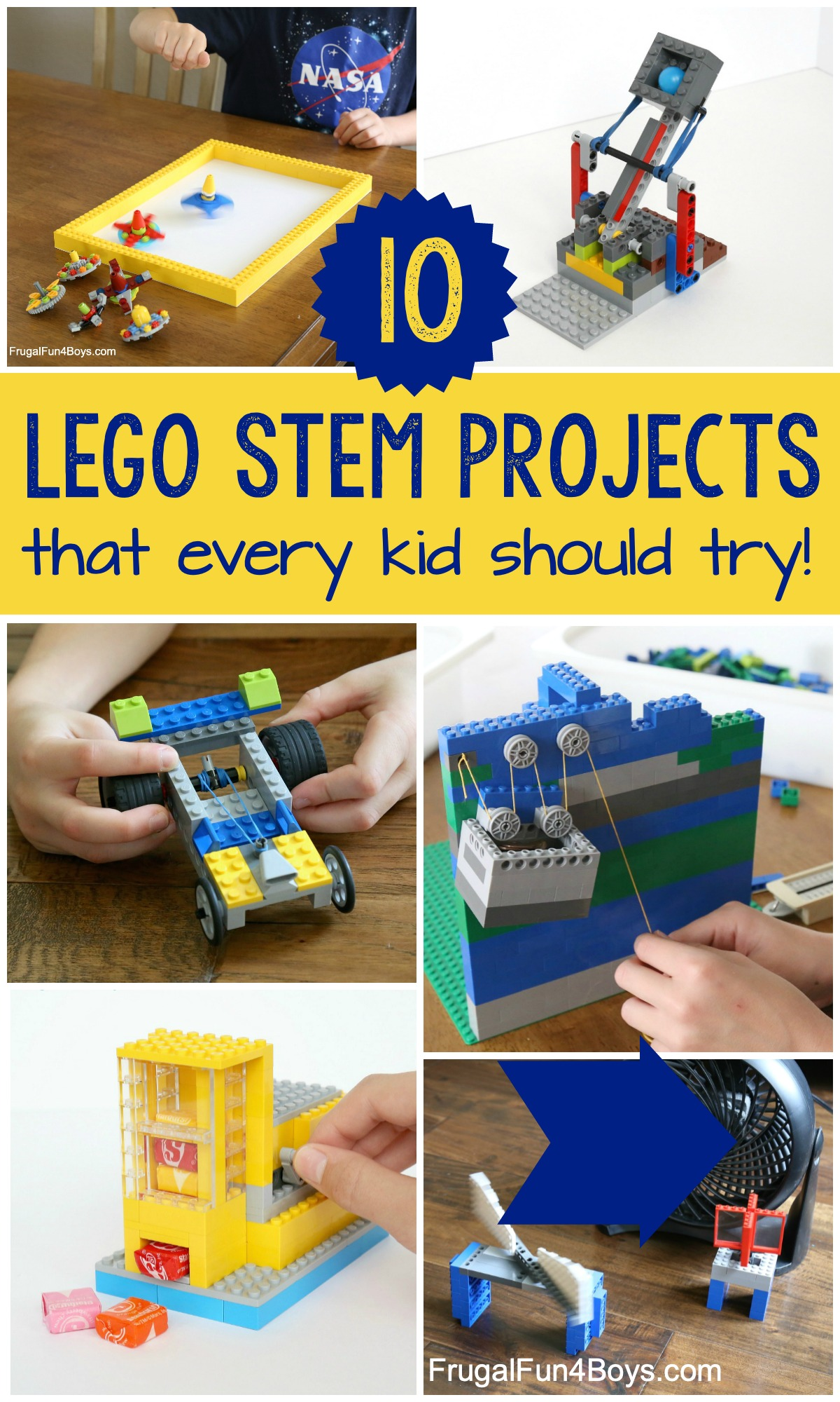 10 Lego Stem Projects That Every Kid Should Try Frugal Fun For Boys And Girls