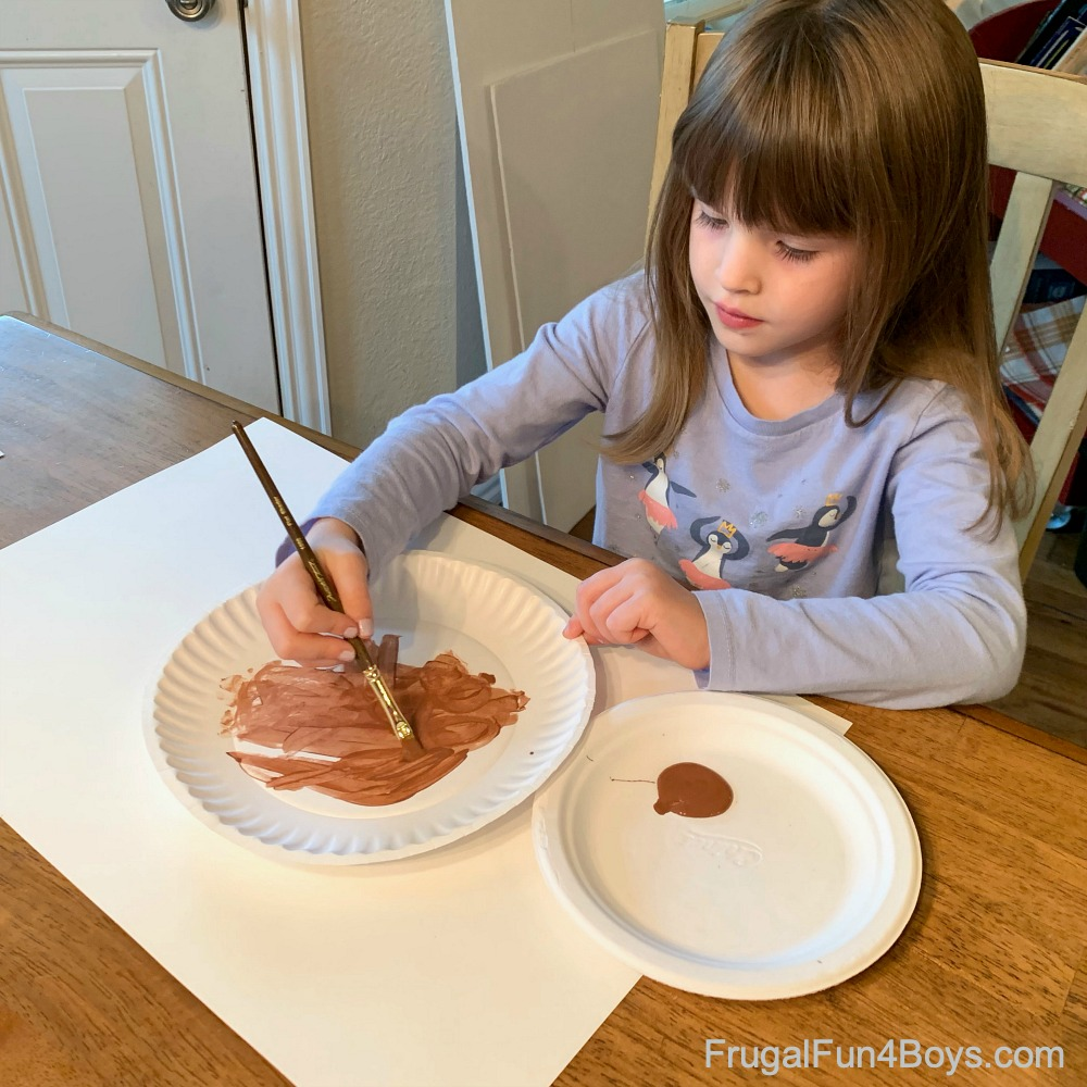How to Make a Paper Plate Turkey Craft