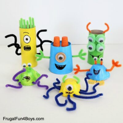 Silly Monster Craft for Kids