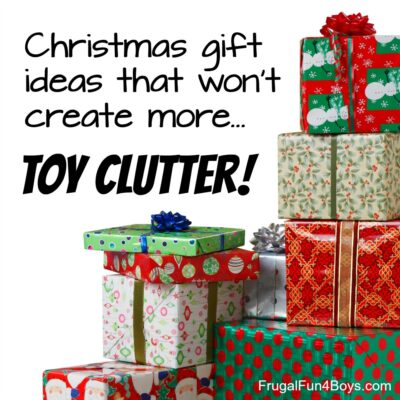 Christmas Gift Ideas for a Clutter-Free Christmas
