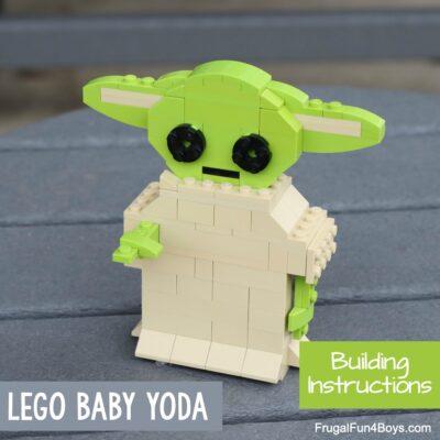 LEGO Baby Yoda Building Instructions