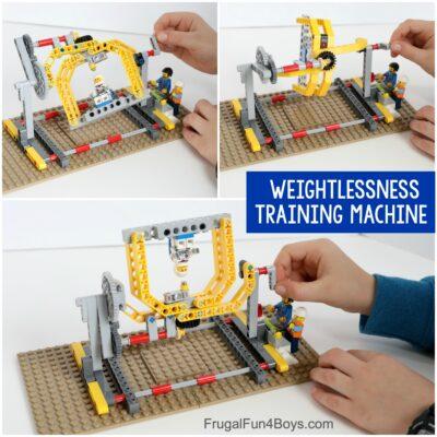 LEGO Weightlessness Training Machine