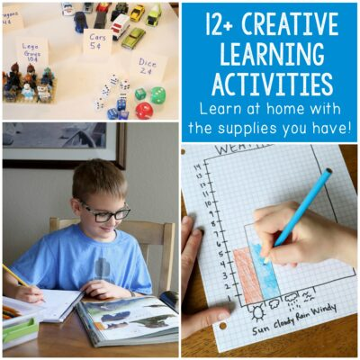 Activities for Kids to Learn at Home with Materials You Have