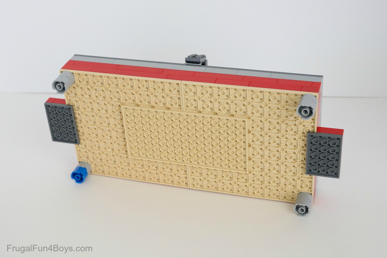 Build A Lego Air Hockey Table Frugal Fun For Boys And Girls