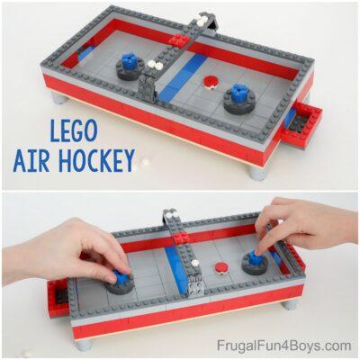 Build a LEGO Air Hockey Table