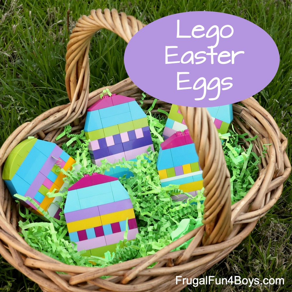 How to Build LEGO Easter eggs