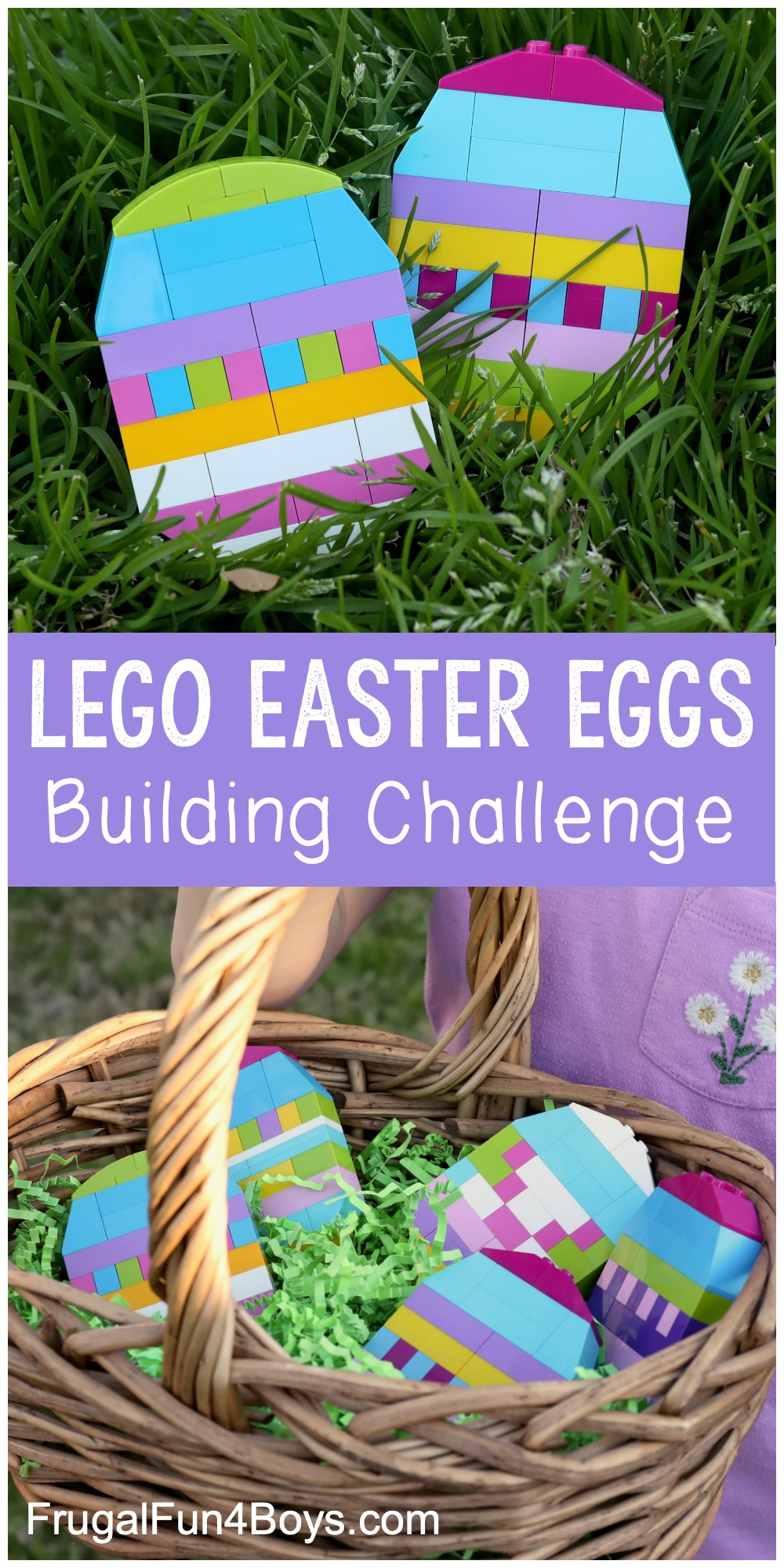 Build LEGO Easter eggs