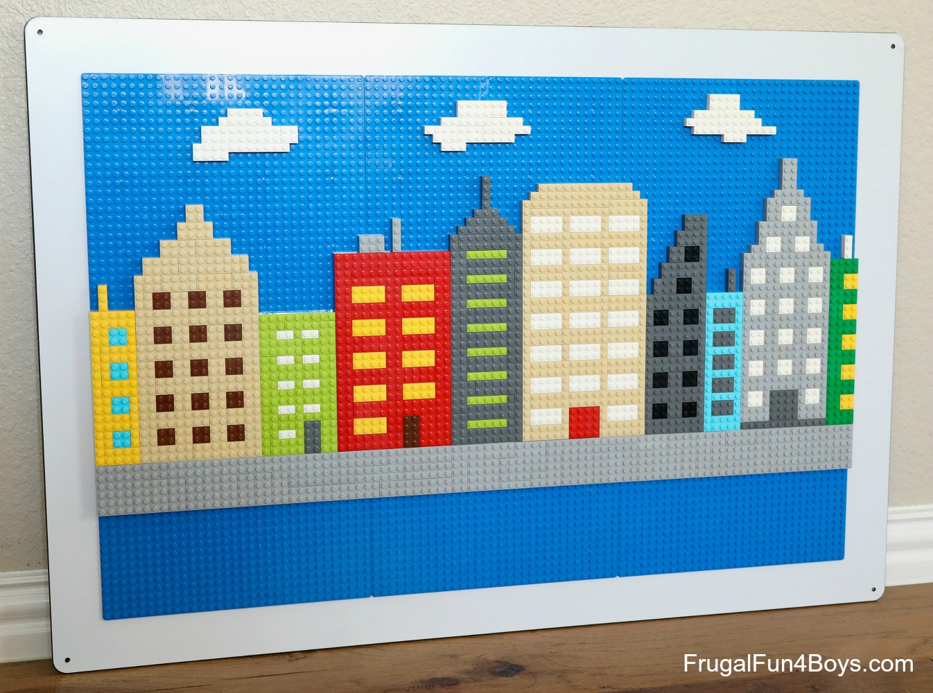 Lego Wall City Skyline