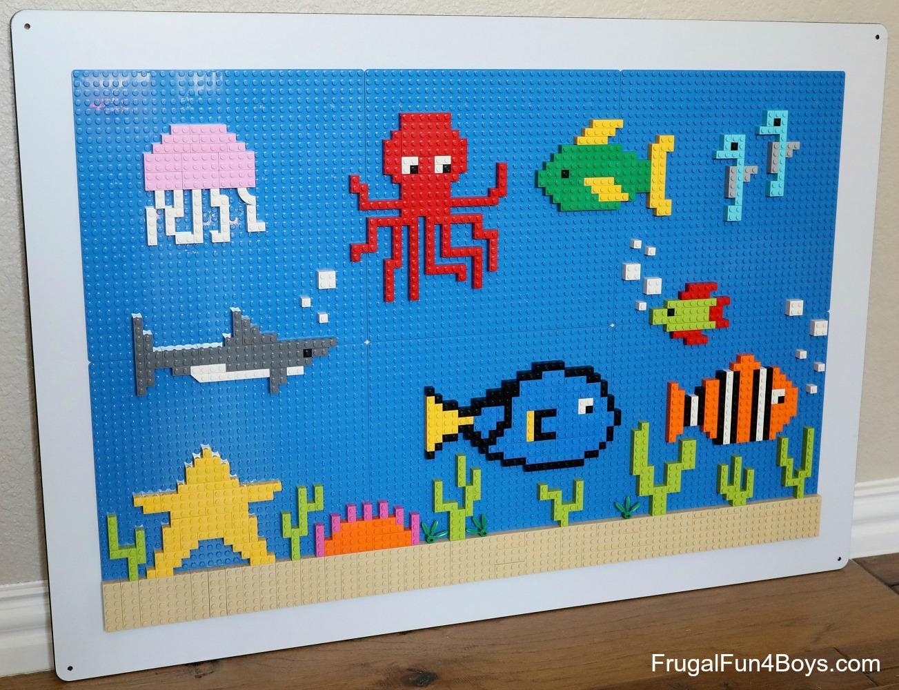 LEGO Wall Ocean