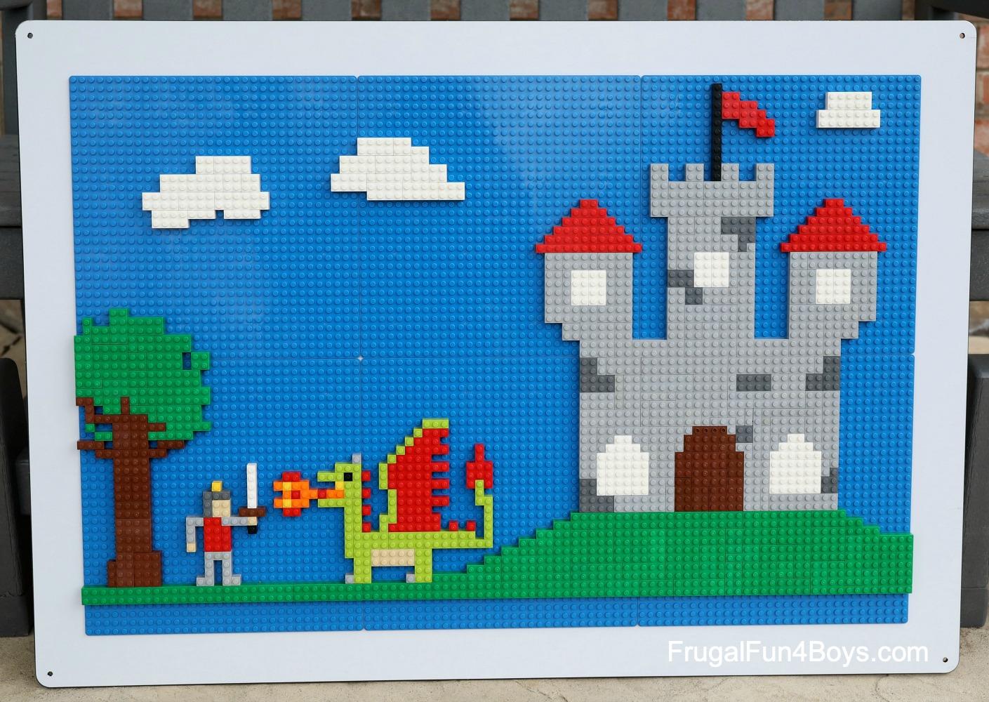 LEGO Wall Castle