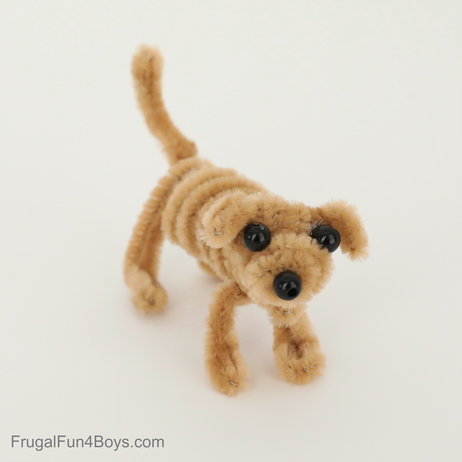 Pipe Cleaner Animals - Dog