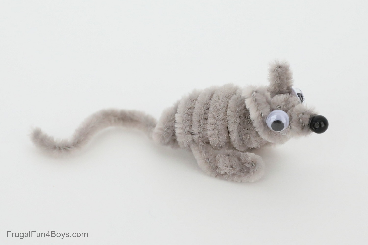 Pipe Cleaner Animals - Mouse