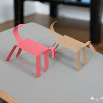 Make a Paper Horse that WALKS!