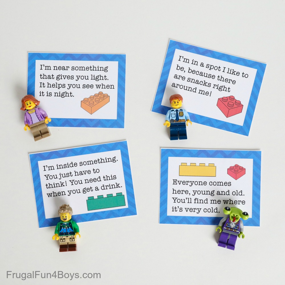 LEGO scavenger hunt