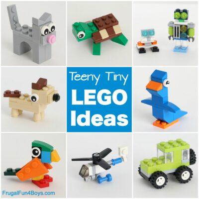 Teeny Tiny Mini LEGO Projects to Build