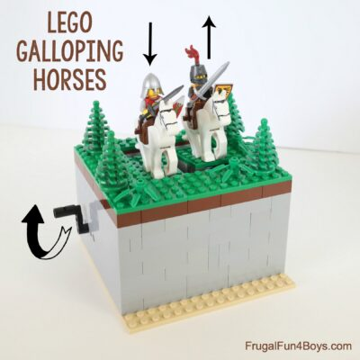 Build LEGO Galloping Horses