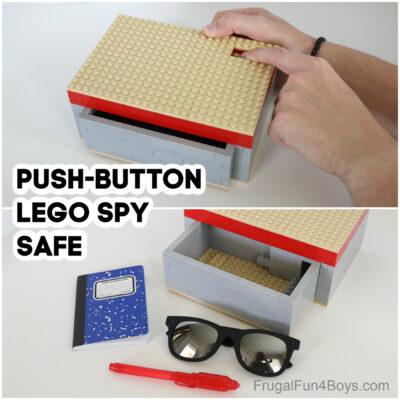 Build a LEGO Spy Safe + LEGO Puzzle Boxes