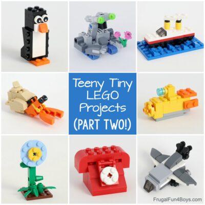 MORE Teeny Tiny Mini LEGO Projects