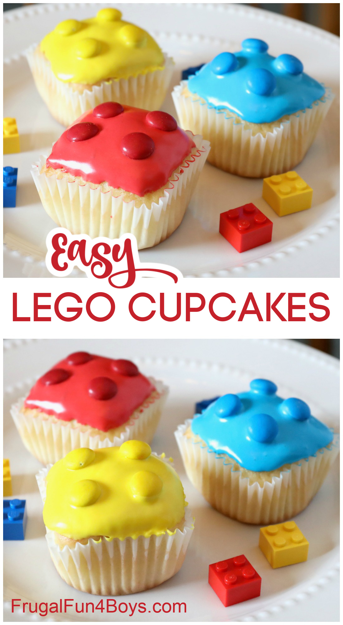 How to Make Easy LEGO Cupcakes