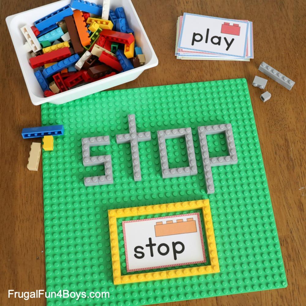 LEGO Sight Words