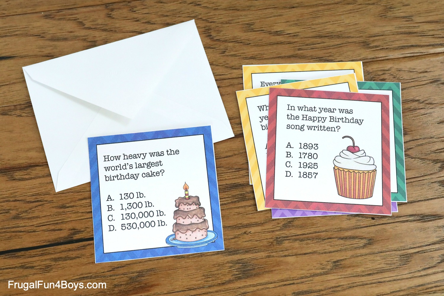Birthday Trivia Game
