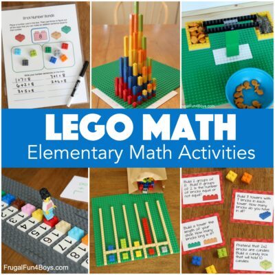 LEGO Math Activities for Elementary Kids